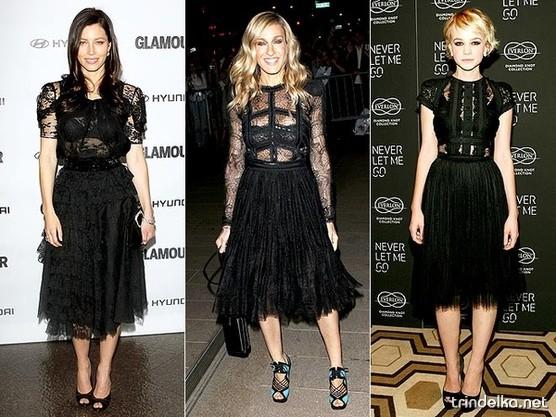 Чёрные платья с... и очень даже мне понравилось как я выглядела.
