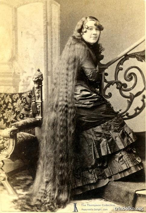 Сестры Сазерленд - самые знаменитые девушки с длинными волосами 78_6173f68175afc080ba0500325b546e66