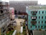 ул. Саксаганского, подпертый дом :)